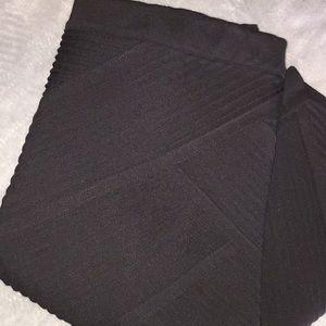 Lane Bryant black skirt